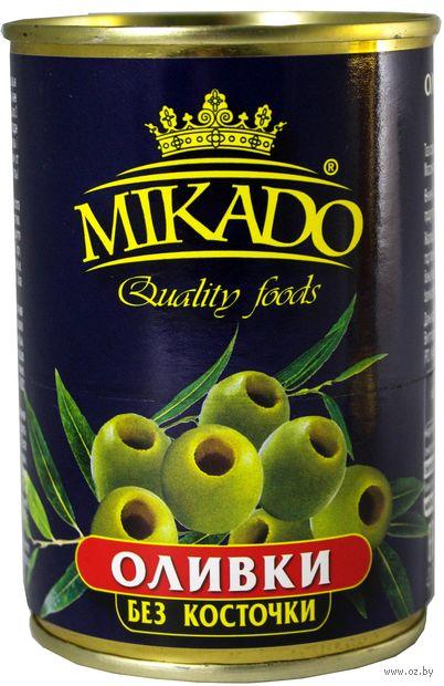 "Оливки ""Mikado. Без косточки"" (300 мл) — фото, картинка"