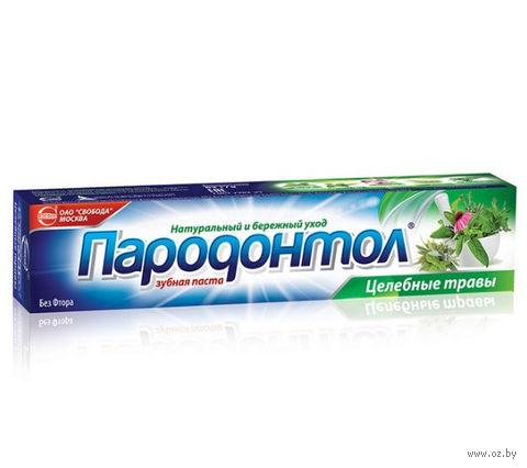 "Зубная паста ""Целебные травы"" (63 г) — фото, картинка"