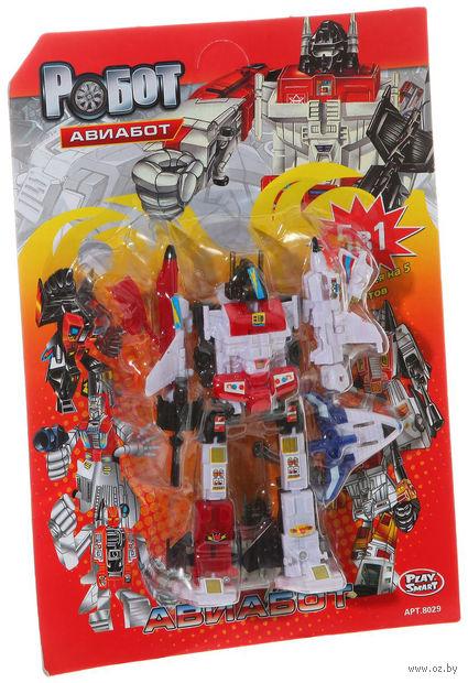 """Робот-трансформер """"Авиабот. 5 в 1"""""""