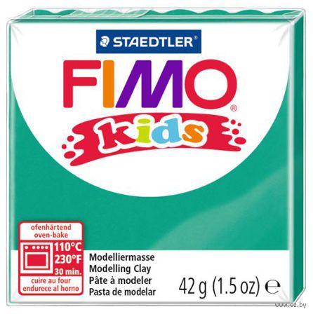 """Глина полимерная """"FIMO Kids"""" (зеленый; 42 г)"""