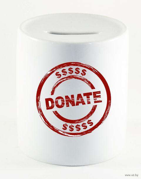 """Копилка """"Donate"""" (арт. 389) — фото, картинка"""