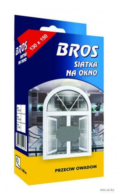 """Сетка для дверей и окон от насекомых """"Bros"""" (150х180 см) — фото, картинка"""