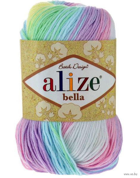 "Пряжа ""ALIZE. Bella Batik №2132"" (50 г; 180 м) — фото, картинка"
