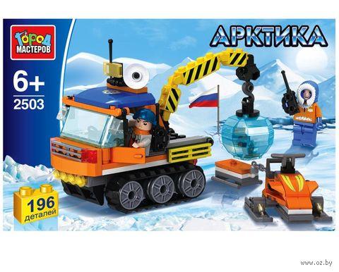 """Конструктор """"Арктика. Полярный вездеход"""" (196 деталей) — фото, картинка"""