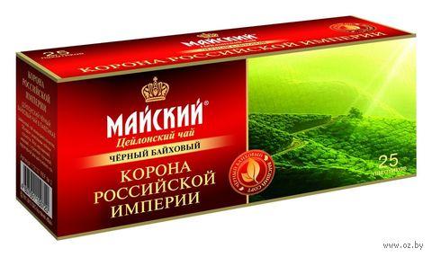 """Чай черный """"Корона"""" (25 пакетиков) — фото, картинка"""