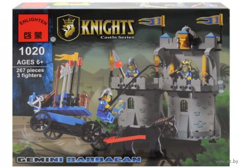 "Конструктор ""Knights. Рыцарь"" (267 деталей) — фото, картинка"