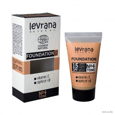 """Тональный крем для лица """"Foundation"""" SPF 15 тон: 04 — фото, картинка"""
