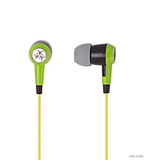 Наушники SmartBuy TOXIC (Green)