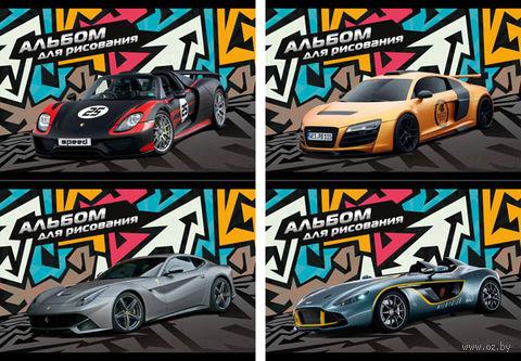 """Альбом для рисования """"Speed Car"""" (40 листов)"""