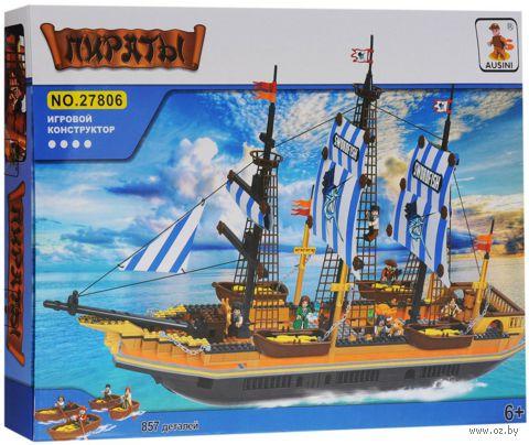 """Конструктор """"Пираты. Корабль"""" (857 деталей)"""