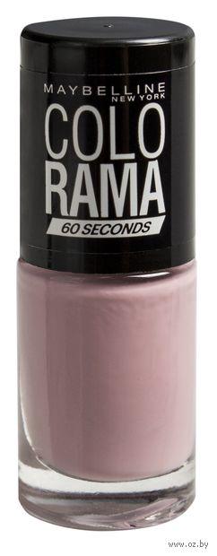 """Лак для ногтей """"Colorama"""" (тон: 447, дымчатая роза) — фото, картинка"""