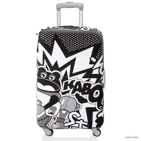 """Чехол для чемодана """"Kaboom"""" (средний)"""