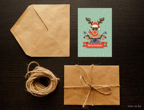 "Открытка ""Merry Christmas"" (арт. 31) — фото, картинка"