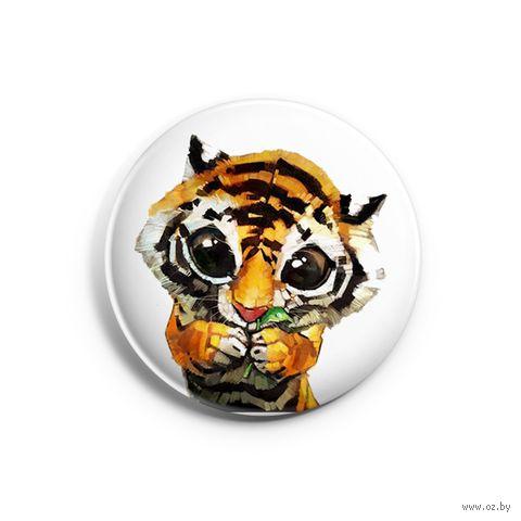 """Значок маленький """"Тигр"""" (арт. 964) — фото, картинка"""