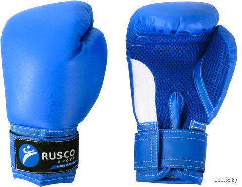 Перчатки боксёрские детские (6 унций; синие) — фото, картинка