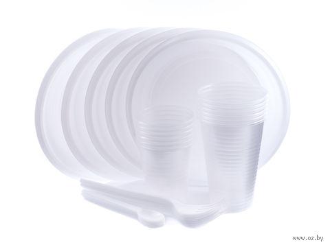 Набор посуды одноразовой (30 предметов) — фото, картинка