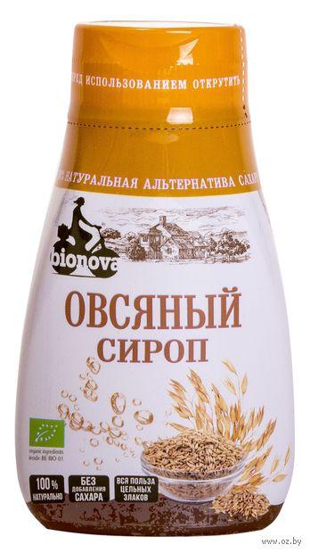 "Сироп овсяный ""Bionova"" (230 г) — фото, картинка"