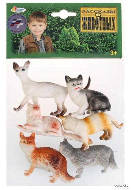 """Набор фигурок """"Кошки"""" (6 шт.) — фото, картинка"""