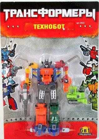 """Робот-трансформер """"Технобот. 6 в 1"""" (арт. Л22517)"""
