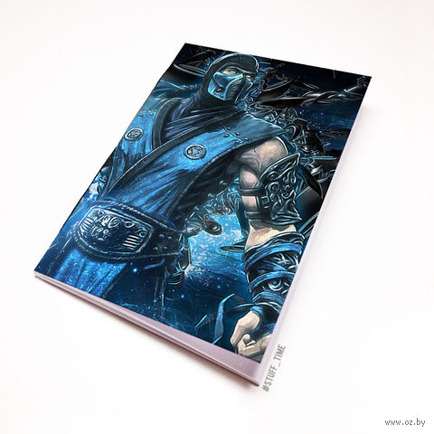 "Блокнот ""Мортал комбат"" (А5; арт. 346) — фото, картинка"