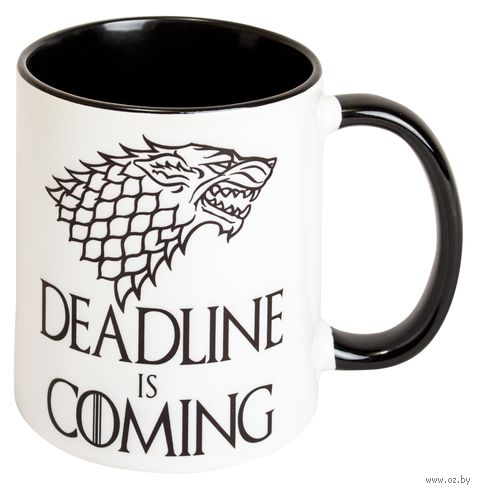 "Кружка ""Deadline is coming"" (510)"