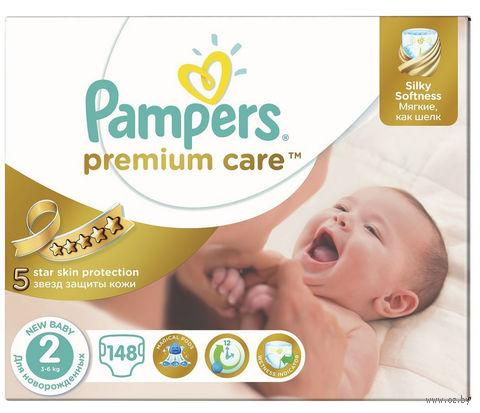 """Подгузники """"Premium Care New Baby"""" (3-6 кг, 148 шт)"""
