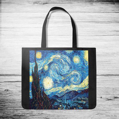 """Сумка-шоппер """"Ван Гог"""" — фото, картинка"""