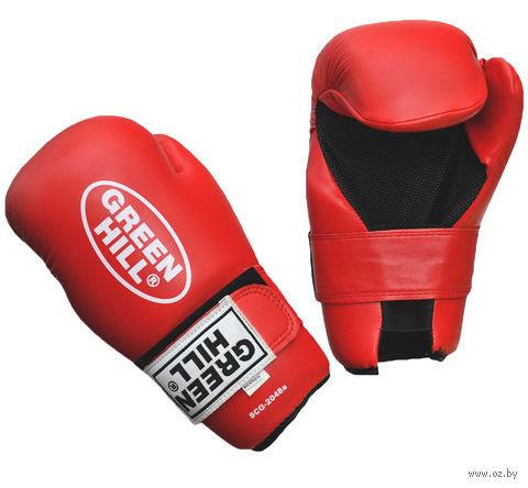 Накладки для карате 7-contact (XL; красные) — фото, картинка
