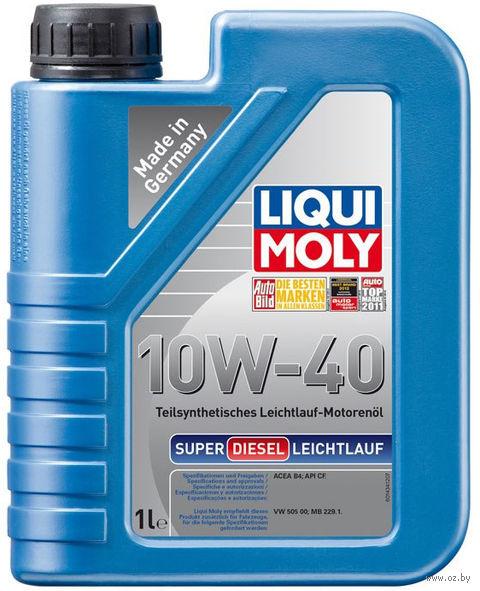 "Масло моторное ""Super Diesel Leichtlauf"" 10W-40 (1 л) — фото, картинка"