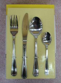 Набор столовых приборов металлических (24 пр, арт. 371530)