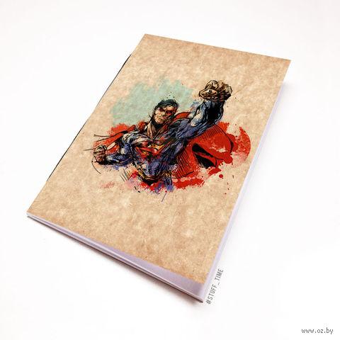 """Блокнот крафт """"Супермен"""" А7 (880)"""