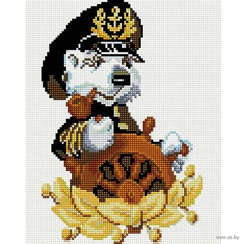"Алмазная вышивка-мозаика ""Капитан"" (200x300 мм) — фото, картинка"