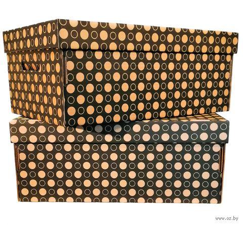 Набор коробок (2 шт.; черные; арт. GDK001d) — фото, картинка