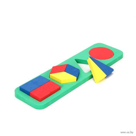 """Развивающая игрушка """"Геометрические фигуры"""" (сложные) — фото, картинка"""