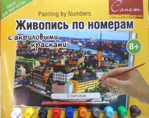 "Картина по номерам ""Стокгольм"" (300х420 мм) — фото, картинка"
