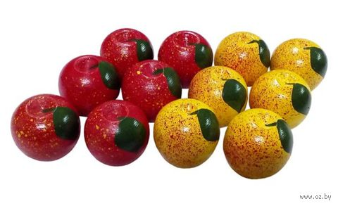 "Счётный материал ""Яблочки"" (12 шт.) — фото, картинка"