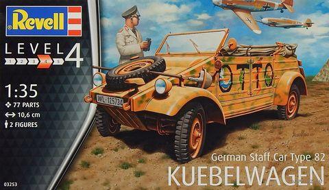 """Сборная модель """"Автомобиль Type 82 """"Kübelwagen"""" (масштаб: 1/35) — фото, картинка"""