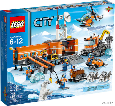 """LEGO City """"Арктическая база"""""""