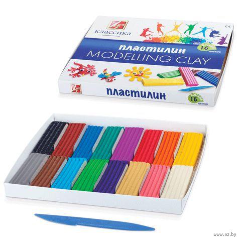 "Пластилин ""Классика"" (16 цветов)"
