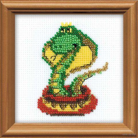 """Вышивка бисером """"Королева змей"""" (арт. 1289)"""