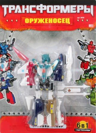 """Робот-трансформер """"Оруженосец. 6 в 1"""" (арт. Л22522)"""