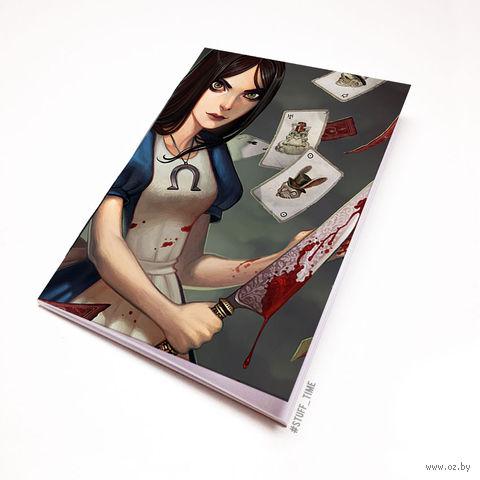 "Блокнот белый ""Алиса"" А5 (349)"