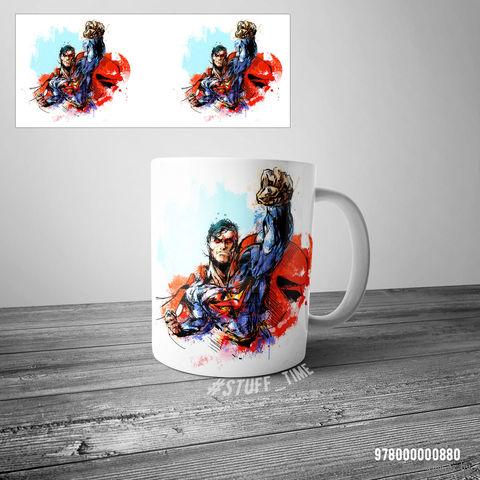 """Кружка """"Супермен"""" (арт. 880) — фото, картинка"""