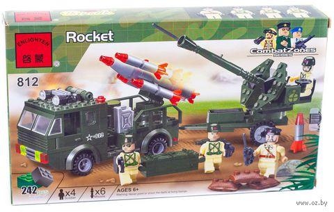 """Конструктор """"Combat Zones. Ракетная установка"""" (242 детали) — фото, картинка"""