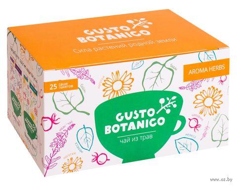 "Фиточай ""Gusto Botanico. Aroma Herbs"" (25 пакетиков) — фото, картинка"