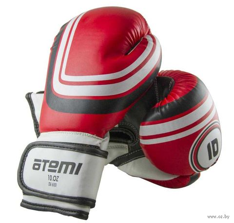 Перчатки боксёрские LTB-16101 (L/XL; красные; 14 унций) — фото, картинка