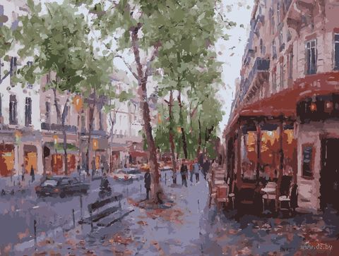 "Картина по номерам ""Осень в Лондоне"" (400х500 мм) — фото, картинка"