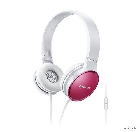 Наушники Panasonic RP-HF300GC-P (бело-розовые) — фото, картинка
