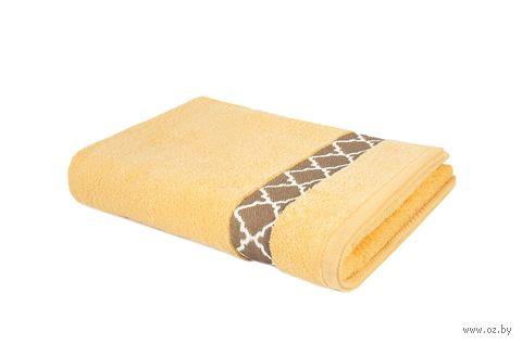 "Полотенце махровое ""Таллин"" (50х90 см; светло-желтое) — фото, картинка"