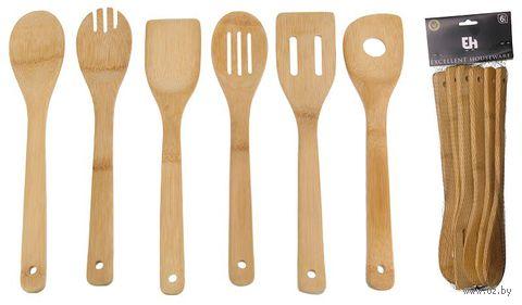 Набор кухонных принадлежностей бамбуковых (6 шт.; 30,5 см; арт. 784200910)